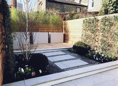 Courtyard garden design Clapham Balham Battersea London ...