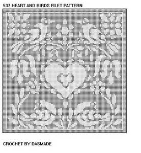 Free Filet Crochet Doily Patterns