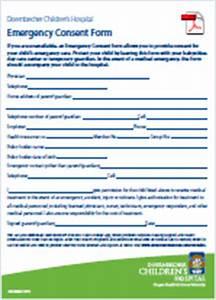 Emergency Consent Form | Pediatric Emergency Care ...