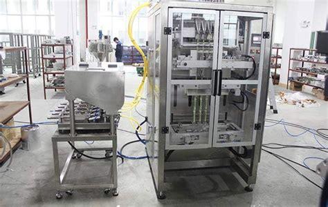 multi lanes shampoo sachet filling packaging high speed machine
