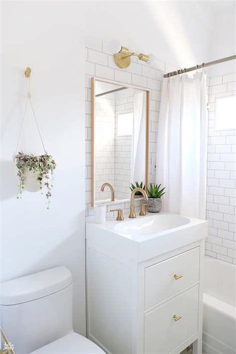 Small White Bathroom Ideas by Ikea Yddingen Washstand With Ikea Skogsvag Mirror