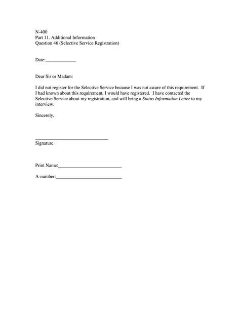 Registration Letter Sample - Sample Resignation Letter