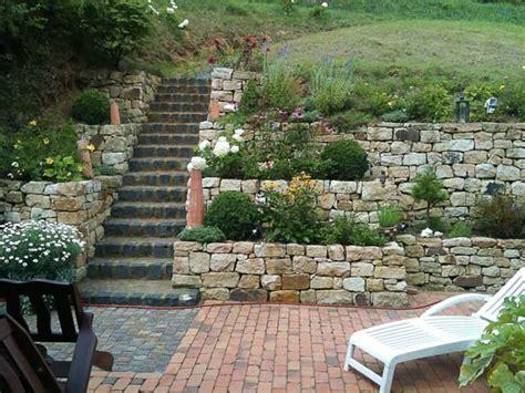 Steinwand Garten Selber Machentrockenmauer Selber Bauen