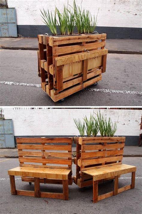 pallet planter  potting table  easy pallet ideas