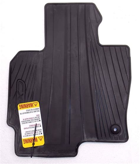 mazda cx 5 all weather floor mats new oem 2013 2015 mazda cx 5 4 black all weather