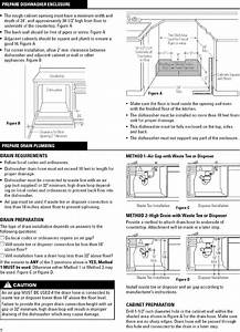 Dishwasher Photo And Guides  Ge Dishwasher Installation Manual