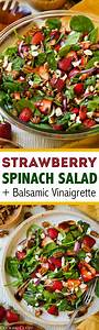 Strawberry Spinach Salad with Candied Pecans, Feta and ...