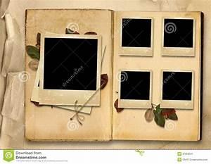 Album Photo Pour Polaroid : album photos de vintage avec la pile de vieux photo cadres image stock image 31959541 ~ Teatrodelosmanantiales.com Idées de Décoration