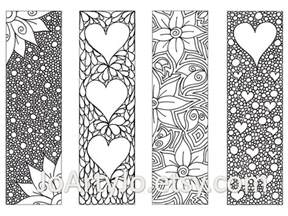 zendoodle printable bookmarks zentangle inspired by