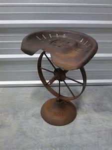 Beautiful Vintage Tractor Seat Stool
