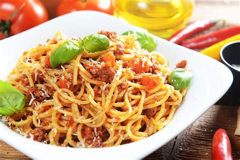 image de spaghetti bolognaise image de