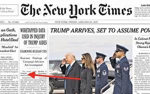 In bizarre plot to discredit Trump, NY Times says NY Times ...