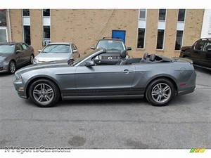 2013 Ford Mustang V6 Premium Convertible in Sterling Gray Metallic photo #3 - 227154 ...
