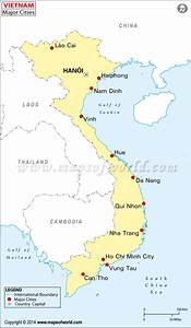 Buy Vietnam Cities Map