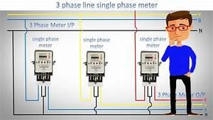 3 Phase Line Single Phase Meter