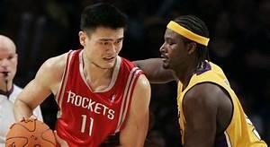 Basket - NBA - Houston : Le maillot de Yao Ming a été ...