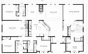 40x60 barndominium floor plans google search house With 40x60 shop floor plans