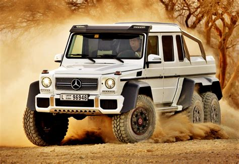Mercedes G Class Luxury Offroad Vehicle 2014