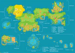 My Pokemon World Map v3 4