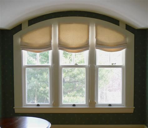 arched window blinds arched shades traditional shades boston