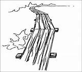 Boardwalk Template Sketch sketch template