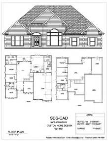 blueprints for a house 75 complete house plans blueprints construction documents from sdscad available for 50 00 each