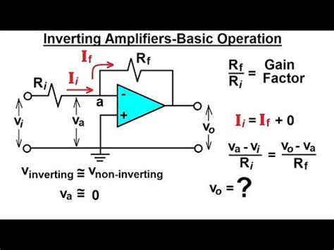 Electrical Engineering Operational Amp
