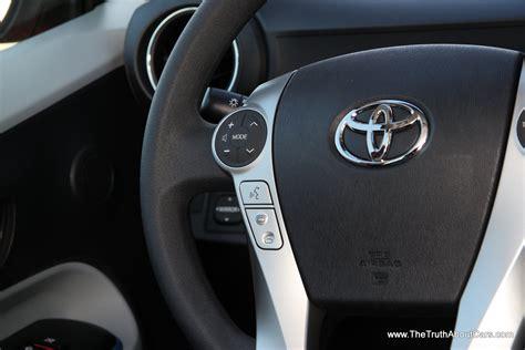Toyota Prius 2012 Interior by 2012 Toyota Prius C Interior Drive Information Lcd