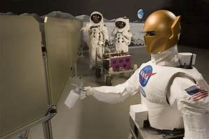 Meet robonaut: NASA's humanoid robot (for use on the ISS)