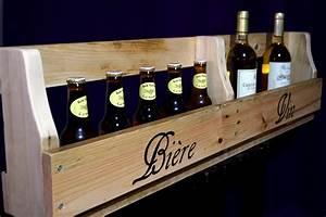 Porte Bouteille De Vin : porte bouteille de vin en bois monde du vin ~ Dailycaller-alerts.com Idées de Décoration