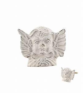 Bouton De Meuble Vintage : bouton de meuble vintage ange en fer patin blanc ~ Melissatoandfro.com Idées de Décoration