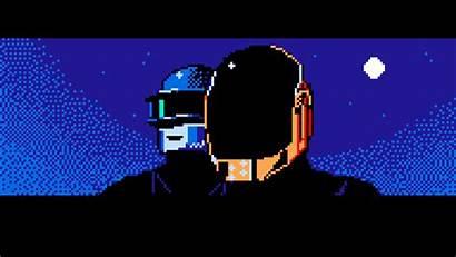 Pixel 8bit Pixelart Giphy Daft Punk Dot