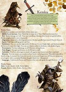 D D 5e Adventure League Playable Races D D In 2019
