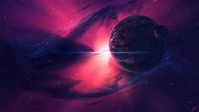 Pink Galaxy Space Wallpapers Planets Nebula Planet