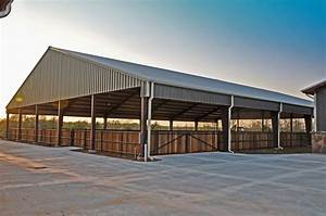 Clayton boyd industries custom horse barn covered riding for Covered riding arena