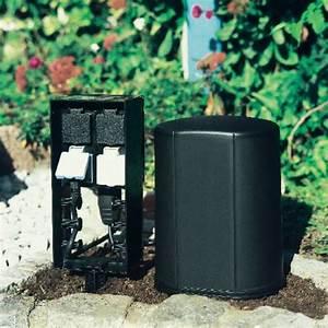 oase gartensteckdose 4fach schwarz 54978 a012 voelkner With französischer balkon mit funk stromverteiler garten