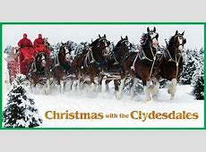 Events Calendar Christmas with the Clydesdales Las