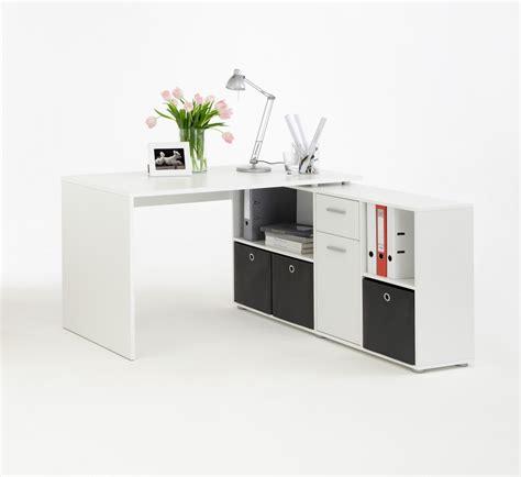 local bureau bureau d 39 angle blanc pour aménager comme il se doit le