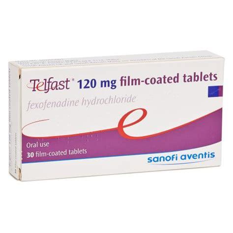 buy telfast allegra fexofenadine 120mg online medexpress uk