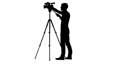 12238 photographer tripod silhouette settings for shooting on tripod silhouette white