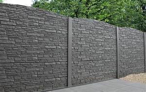Cloture Beton Imitation Bois : palissade pvc castorama perfect gamme prestige with ~ Dailycaller-alerts.com Idées de Décoration
