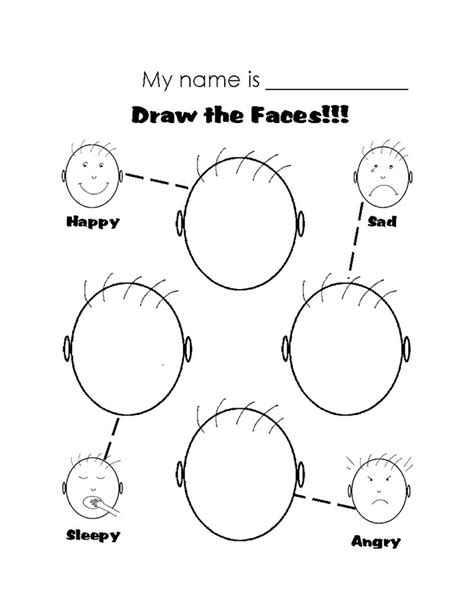 printable worksheets emotions search autistic emotion faces search