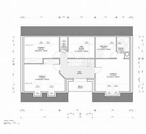 plan chambre parentale avec salle de bain et dressing With plan de chambre parentale avec salle de bain et dressing