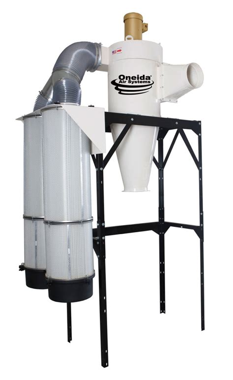oneida air systems showcases  dust collector woodshop