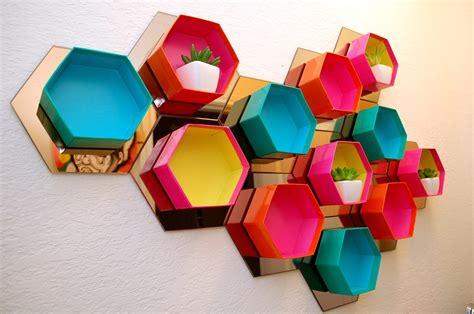 Wall Decor Target Australia by Hexagon Shelf How To Perkins Perkins