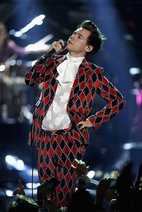 Every Harry Styles Suit From His Solo Tour | Teen Vogue