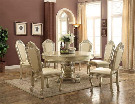 chateau de ville  dining table  acme woptions