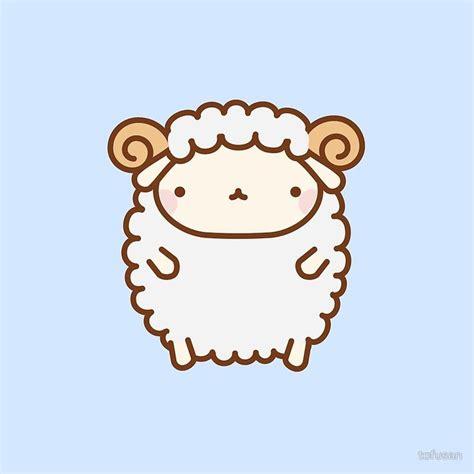 cute sheep photographic print artists  admire cute