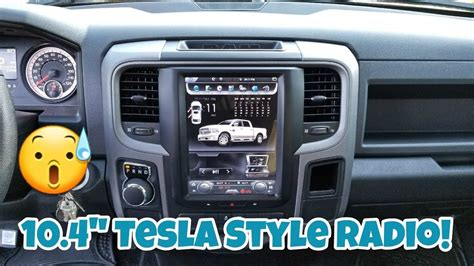 "How To Install A Tesla Style Factory Looking Radio 104"" W"