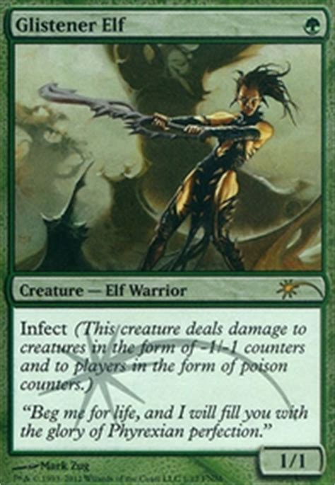 Mtg Infect Deck Tapped Out by Ug Infect Modern Mtg Deck